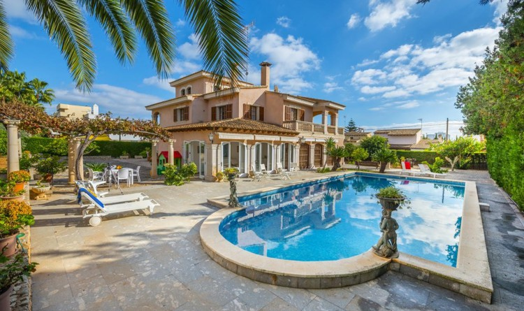 Descubriendo mallorca chalet con piscina privada y grandes espacios exteriores - Chalet fotos ...